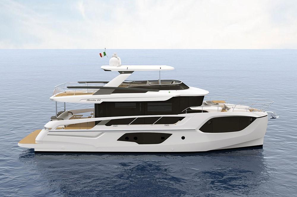 Navetta 64 - новинка от верфи Absolute Yachts