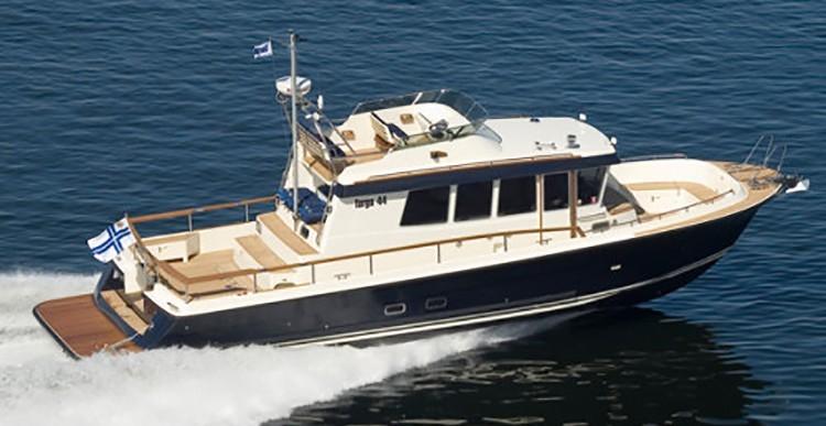 Обзор катера Targa 44