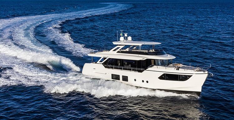 Обзор яхты Absolute Navetta 73 2018 года