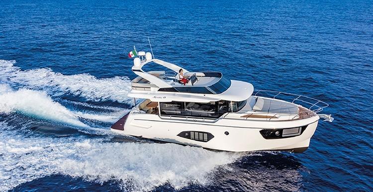 Обзор яхты Absolute Navetta 48
