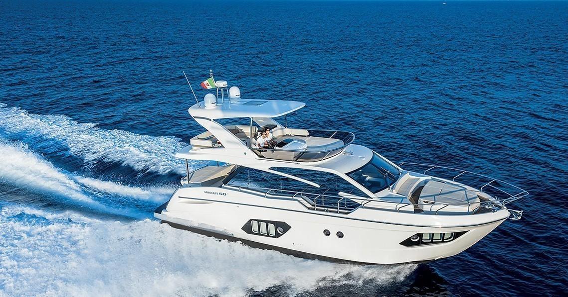 Яхта Absolute 50 FLY