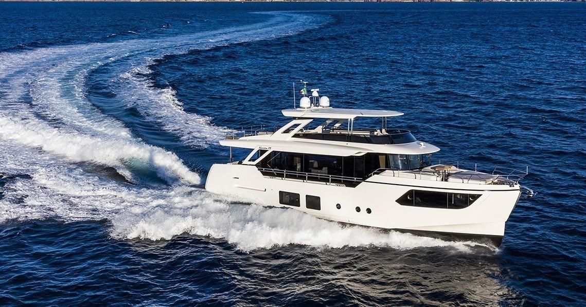 Яхта Absolute Navetta 73