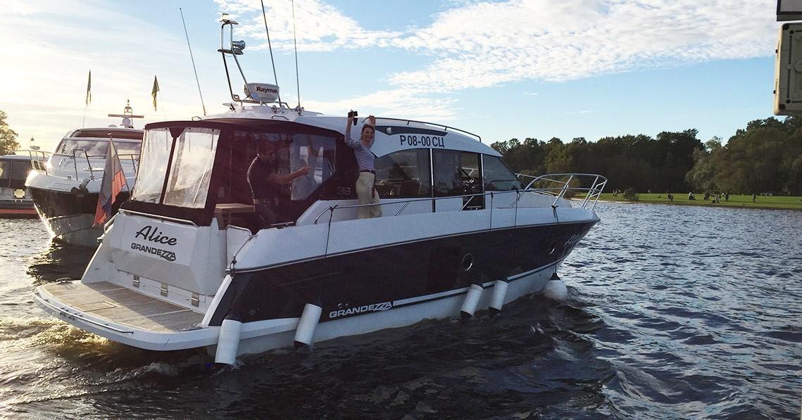 Яхта Grandezza 39 AC