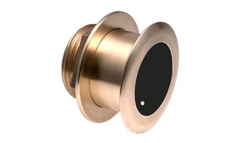 B164 bronze low profile Depth/Temp Transducer (MFD Connect)