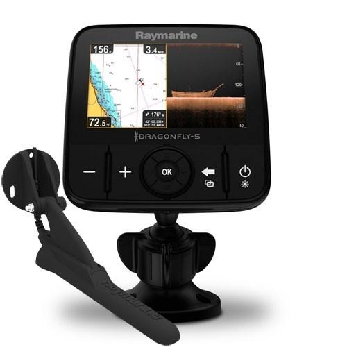 Raymarine Dragonfly-5 PRO (CHIRP эхолот с GPS навигатором)