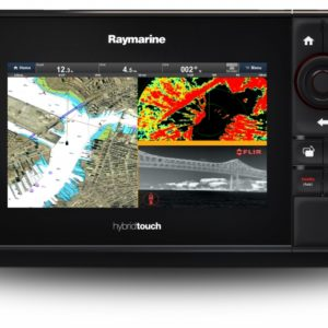 eS78 7″ HybridTouch Multifunction Display with Built in DownVision Sonar and Wi-Fi, No Chart