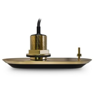 RV-200 RealVision 3D Bronze Through Hull Transducer 0°, Direct connect to AXIOM (8m cable)
