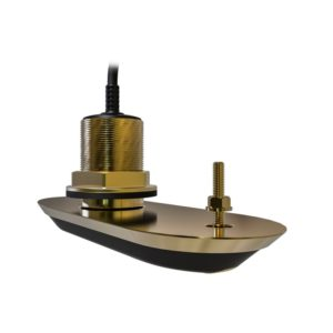 RV-220S RealVision 3D Bronze Through Hull Transducer Starboard 20°, Direct connect to AXIOM (2m cable)
