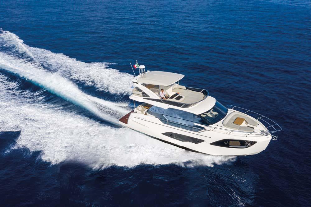Яхта Absolute 47 FLY