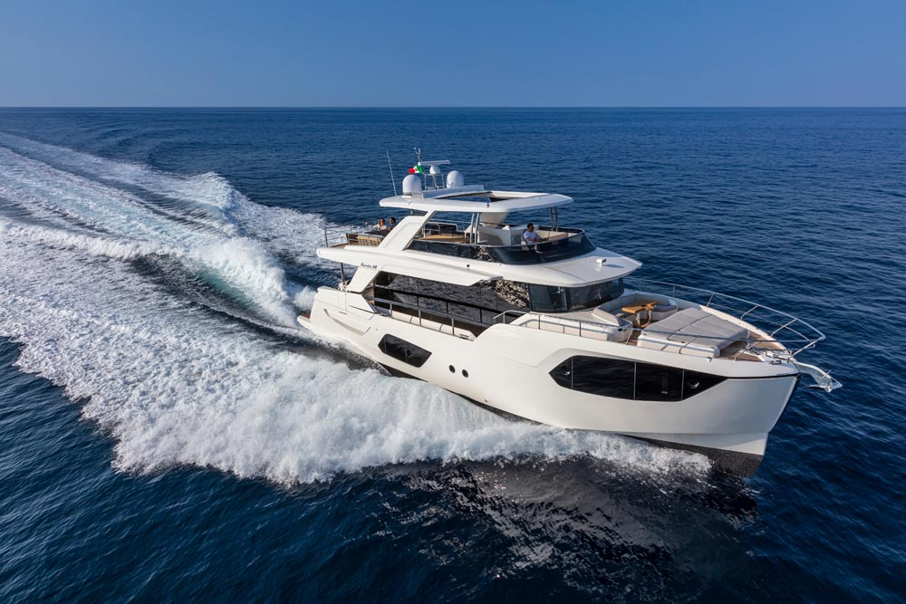 Яхта Absolute Navetta 68
