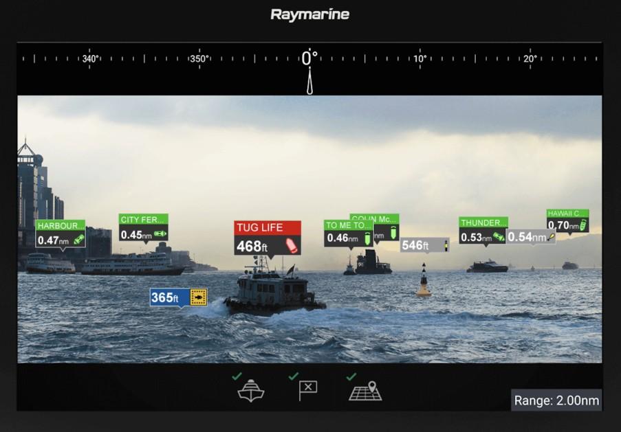 Дополненная реальность от Raymarine