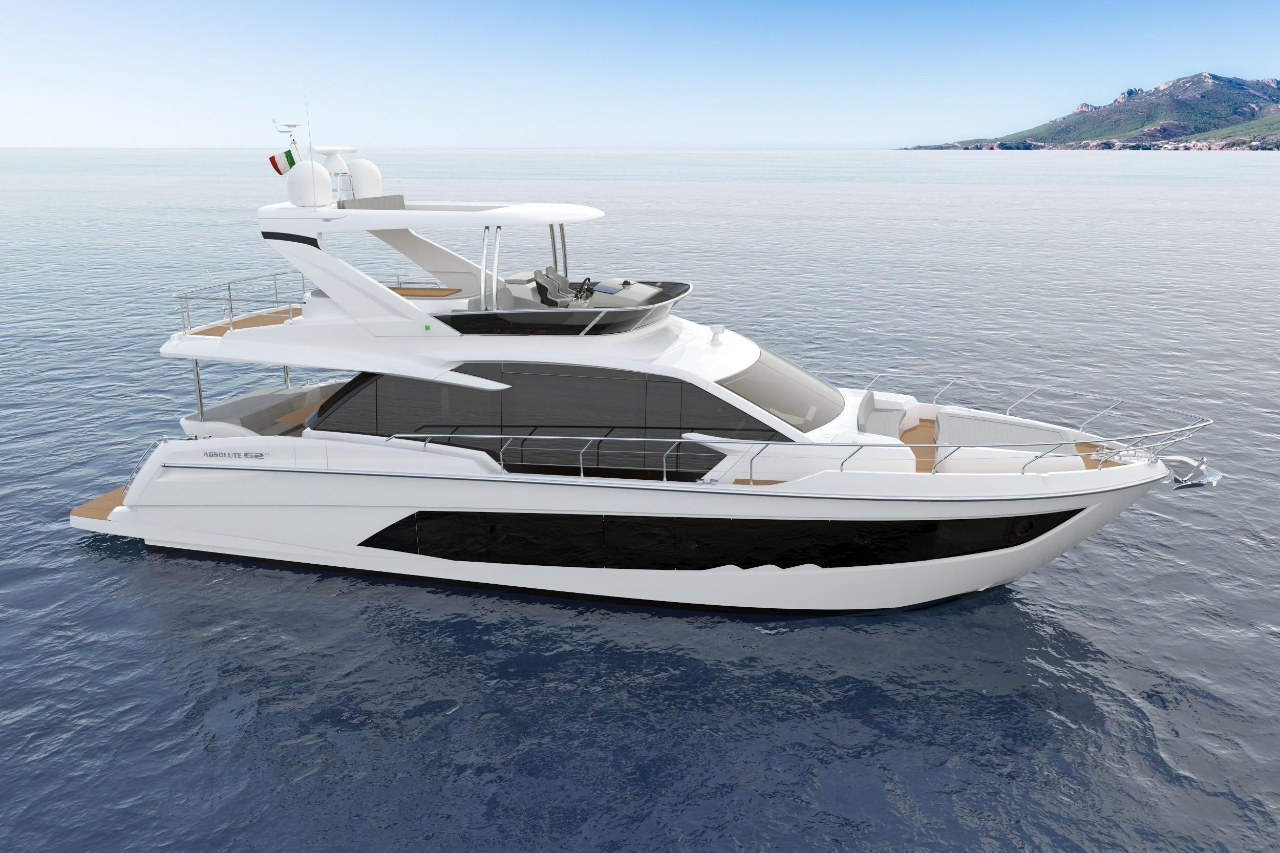 Яхта Absolute 62 FLY